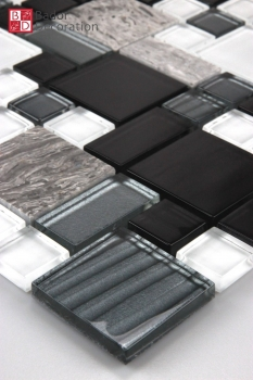 "Mosaik ""Black Square"""