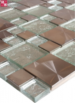 "Mosaik ""Silver Glass"""