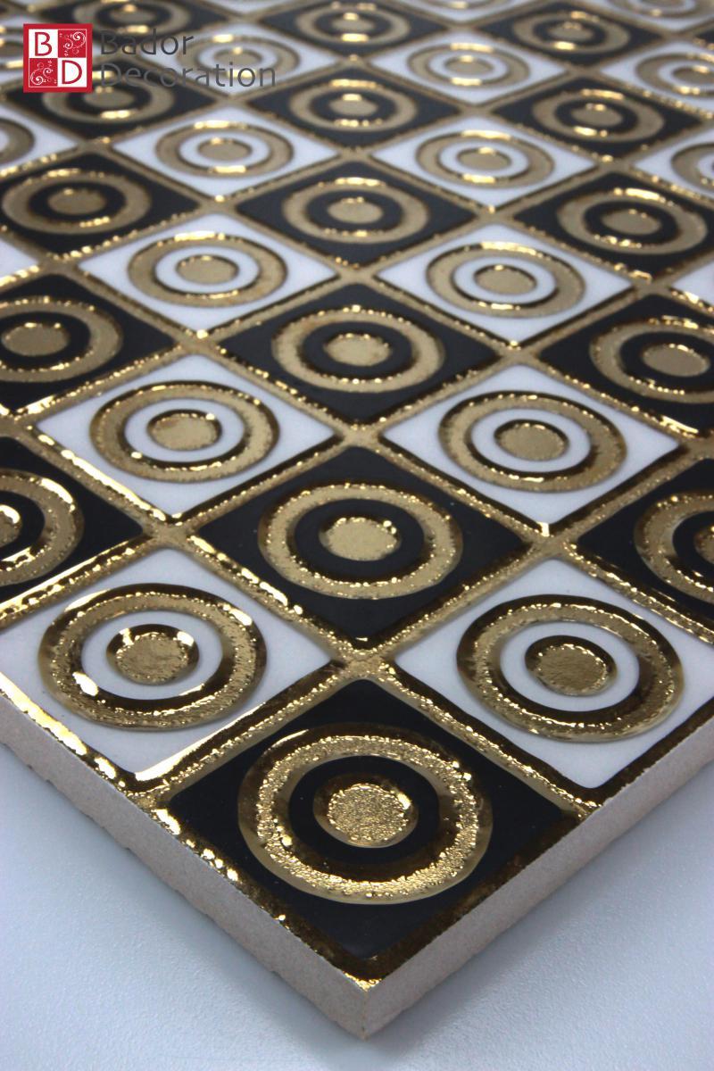 Bador Decoration Fliese Goldenly